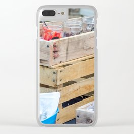 Love is Sweet Clear iPhone Case