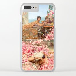 The Roses of Heliogabalus by Sir Lawrence Alma-Tadema Clear iPhone Case