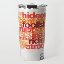 "Buy a Dictionary (""That's So Gay"") Travel Mug"
