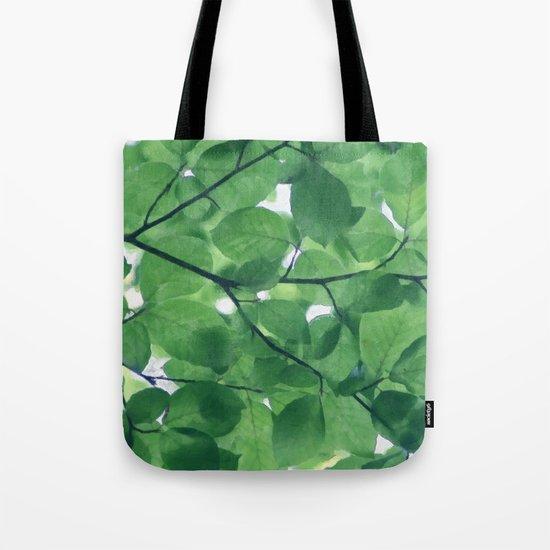 Greenery leaves Tote Bag