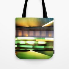 Light show of stairs Tote Bag