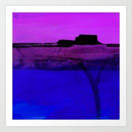 Mesa No. 100D by Kathy Morton Stanion Art Print