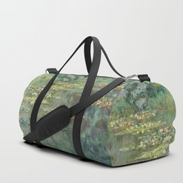 Water Lily Pond Claude Monet Duffle Bag