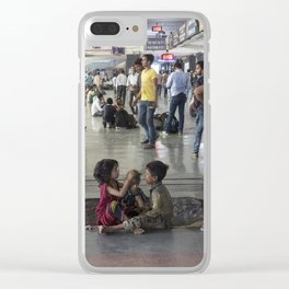 Delhi Central bambinos Clear iPhone Case