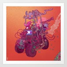 Vroom#1 Art Print