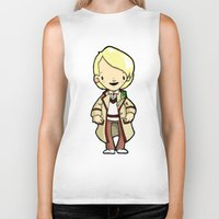 fifth element Biker Tanks featuring FIFTH by Space Bat designs