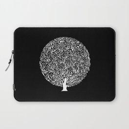 Black and White Tree Laptop Sleeve