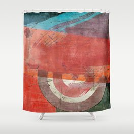 Di Lambretta a Milano (Lambretta in Milan) Shower Curtain