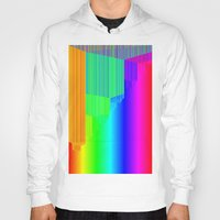 pivot Hoodies featuring R Experiment 4 (quicksort v2) by X's gallery