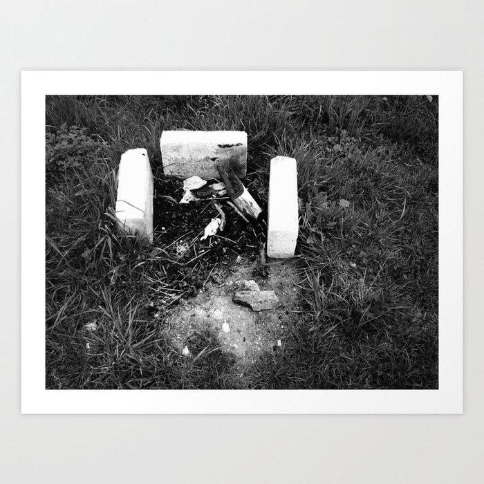 Burn Baby Burn Art Print