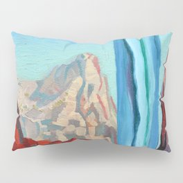 Through the Narrows, Zion National Park Painting Pillow Sham