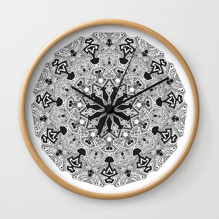 MANDALA #10 Wall Clock