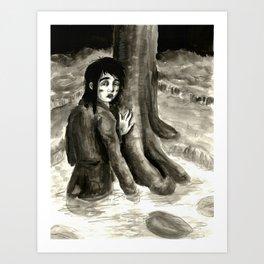 Tzeitel and the Woods, No. 88 Art Print