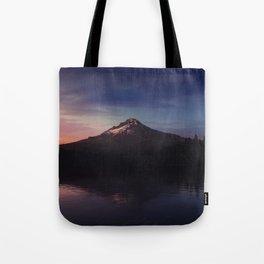 Mount Hood over Trillium Lake Tote Bag