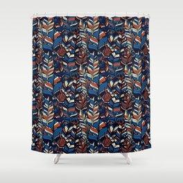 Boho Style illustration Shower Curtain
