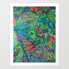 The Jungle Art Print