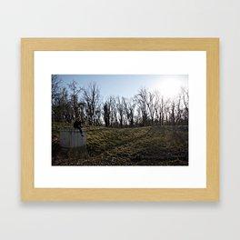 Where Are We? II Framed Art Print