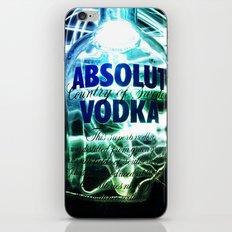 Absolut Vodka iPhone & iPod Skin