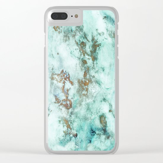 INKED INCEPTION - GOLD & ICE Clear iPhone Case