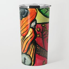 Cashew Apple Painting Travel Mug