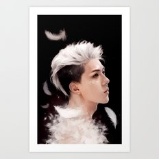 Sehun Art Print