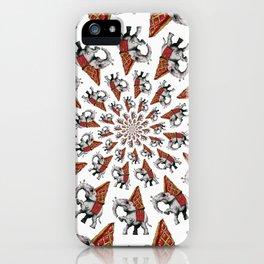 Indian Hurricane - White iPhone Case