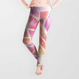 Stained Glass Lotus Leggings