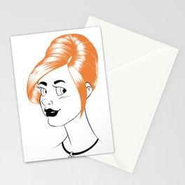 Sheena is... orange Stationery Cards
