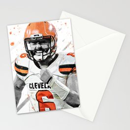 Mayfield American Football Print American Football Wall Art American Football Poster American Football Wall Decor Poster Stationery Cards