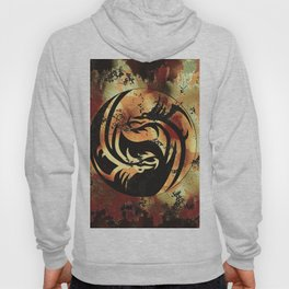 Yin and Yang Dragons Artwork Hoody