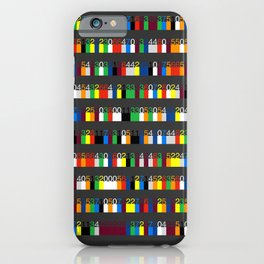 Color by Number: Pi iPhone Case