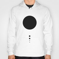 solar system Hoodies featuring The Solar System (white) by Ian Jamieson
