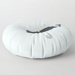Happy Rainy Day Floor Pillow
