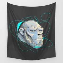 Ape Introspection Wall Tapestry