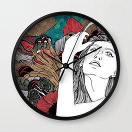 Water fairy [Fenu Paree] Wall Clock