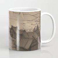 skyrim Mugs featuring Karstaag by Hieronymus7Z