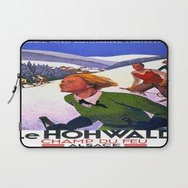 Vintage poster - Le Hohwald Laptop Sleeve