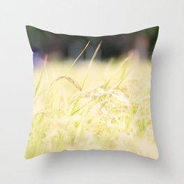 Tokyo Green Throw Pillow