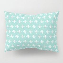 Crosses Pattern Pillow Sham
