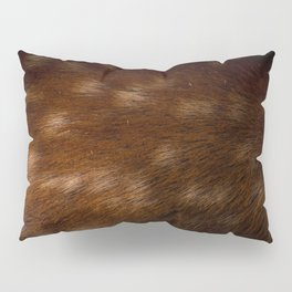 Deer Fur Pillow Sham