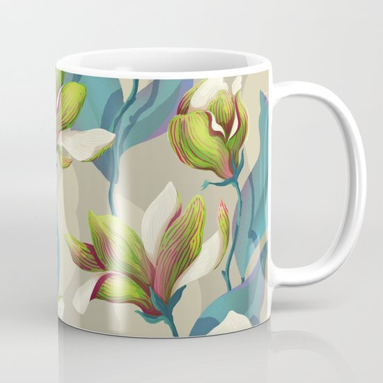 magnolia bloom - vivid version Mug