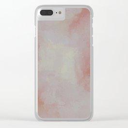 Sun-Filled Concrete Clear iPhone Case