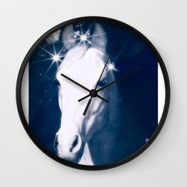 Stars of Blue Wall Clock