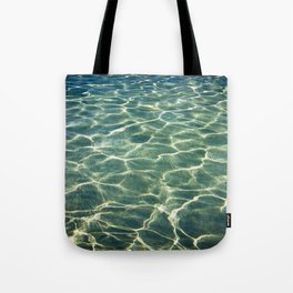 Water's background Tote Bag