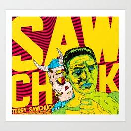 SAWCHUCK Art Print