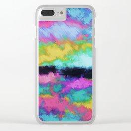 Broken sky Clear iPhone Case