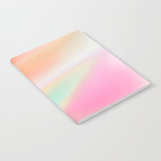 Digital painted texture illustration, pastel soft colors Notebook
