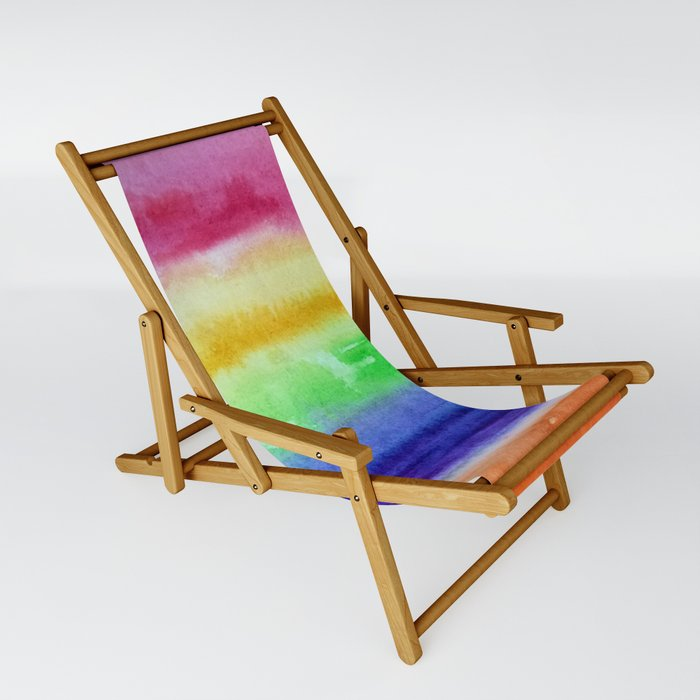Some kind of rainbow Sling Chair