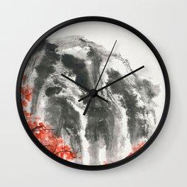 Maple woods Wall Clock