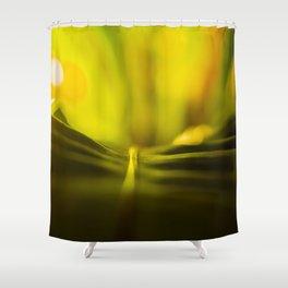 The Night Garden Glow Shower Curtain